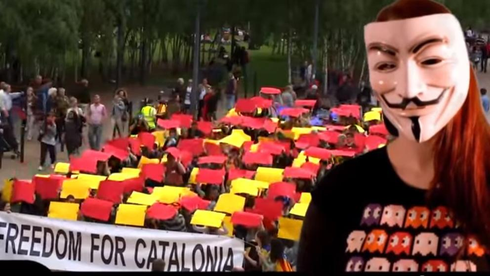 Операция Освобождение Каталонии: хакеры Anonymоus взломали сайты трех министерств Испании