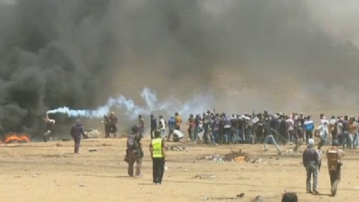 Беспорядки в секторе Газа: более двух десятков раненых