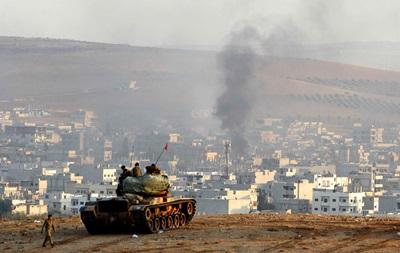 Турецькі танки ввійшли в Сирію - ЗМІ