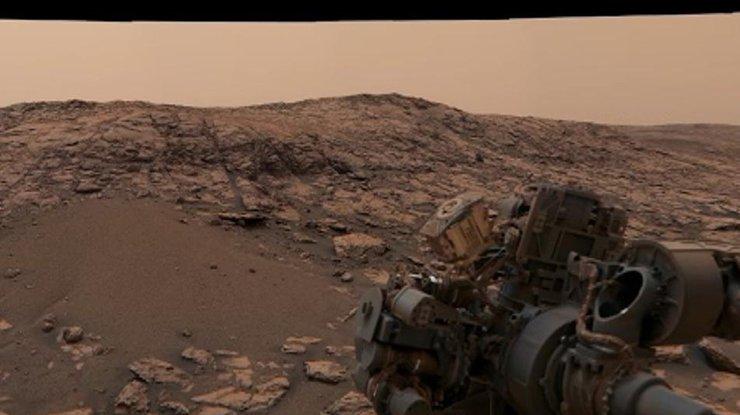 На Марсе бушуют пылевые бури (видео)