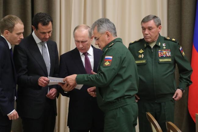 Путин заявил о завершении военной операции в Сирии