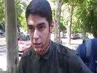 С одесского активиста Устименко, на которого напали с ножом два месяца назад, сняли охрану