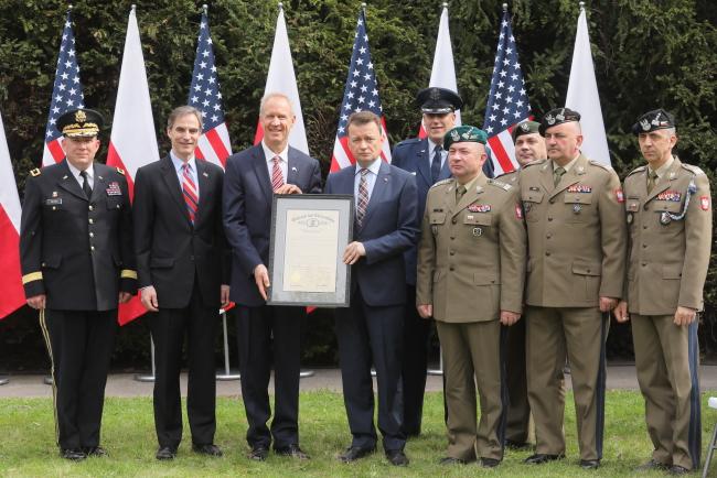 Польське військо відзначило 25-річчя співпраці з Нацгвардією штату Іллінойс