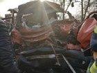 Унаслідок зіткнення мікроавтобуса з вантажівкою на Рівненщині загинули 3 людини, - Нацполіція. ФОТО