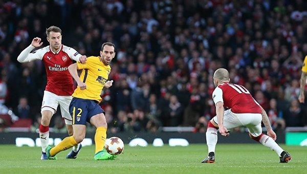 Арсенал в большинстве не смог победить Атлетико в 1/2 финала ЛЕ