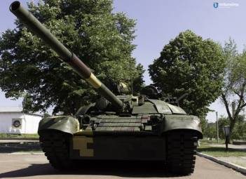 Kyiv Armored Plant upgrades T-72A tank for Ukrainian army
