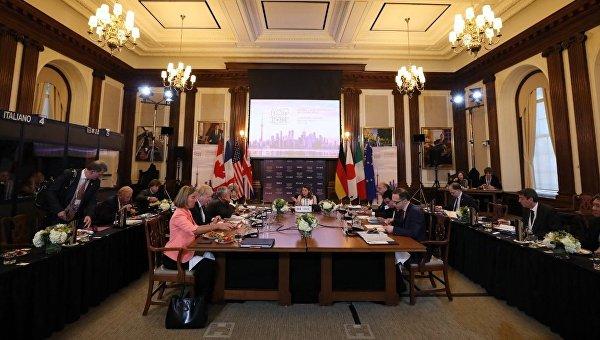 Страны G7 сохранят санкции в отношении России