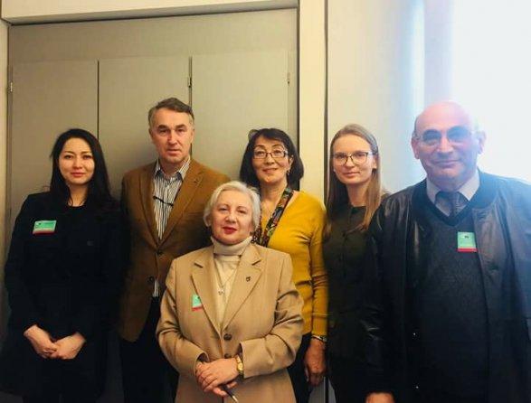 Лейла Бахытжан Козловска Юнус обвиняет Азербайджан в депортации армян