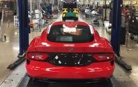 Выпуск суперкаров Dodge Viper завершили досрочно