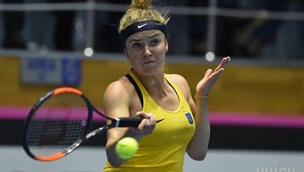 Теннисистка Свитолина получила травму ноги