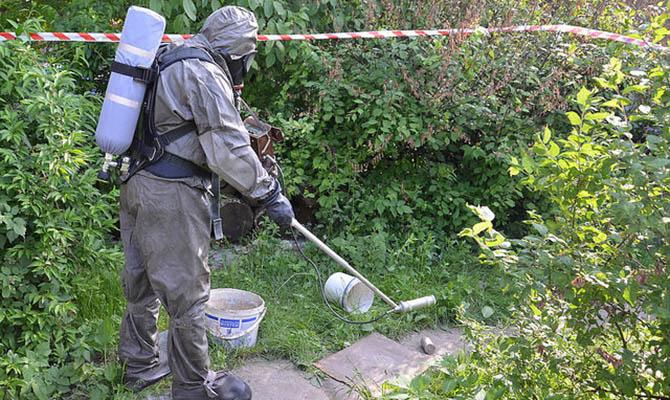 В Украине пытались продать опасное радиоактивное вещество