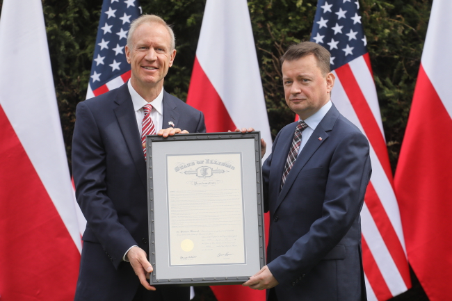 Polish Armed Forces Day to be celebrated in Illinois: Gov. Bruce Rauner