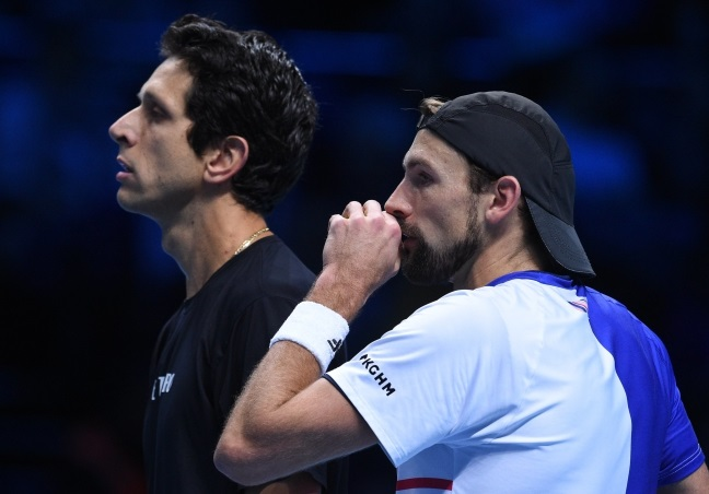 Tennis: Poland's Kubot into doubles semi-finals in London