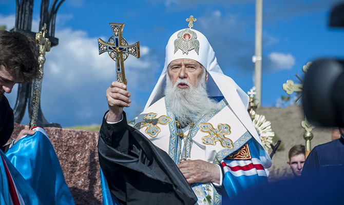 Филарет анонсировал объединительный архиерейский собор