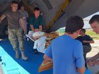 14 wounded military brought to Odesa, four of them in grave condition. PHOTOS