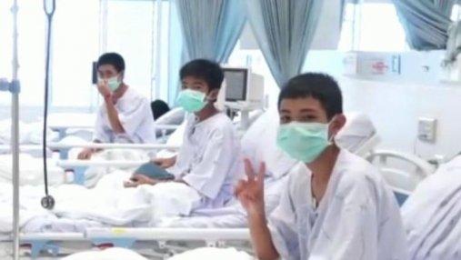 Стало известно о состоянии 12 спасенных футболистов и их тренера в Таиланде