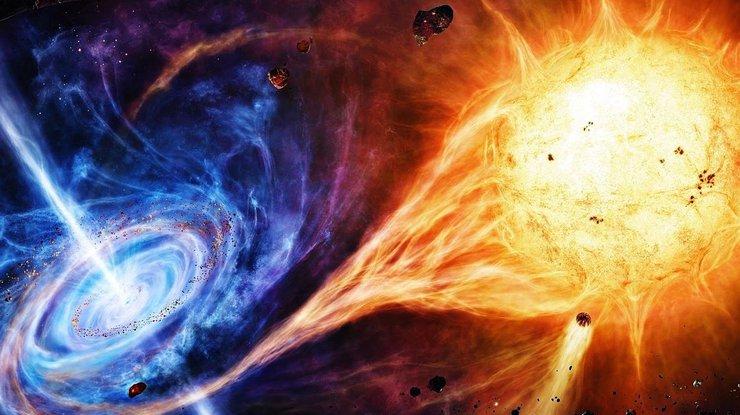 Ярчайший объект во Вселенной уничтожит Землю за полсекунды