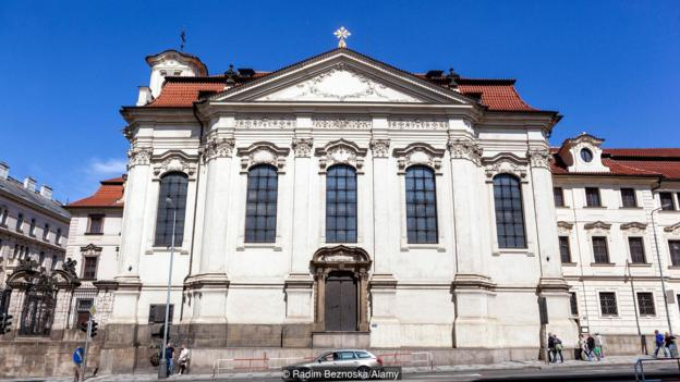 A Prague church that defied Nazi rule