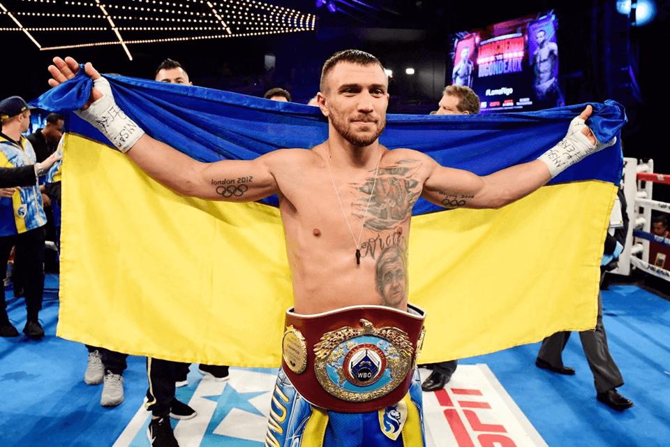 Lomachenko retains junior lightweight title after Rigondeaux quits