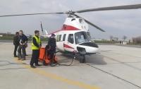 Первый украинский вертолет поднялся в небо (видео)