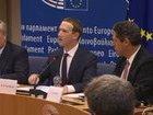 Цукерберг во время слушаний в Европарламенте извинился за утечку данных пользователей Facebook. ВИДЕО