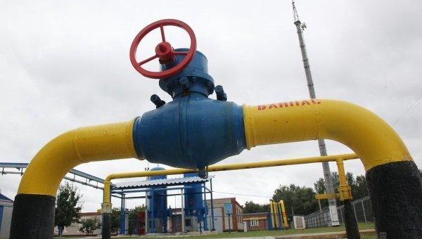 Транзит российского газа через Украину в Европу заметно упал