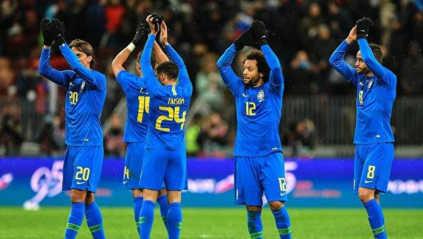 Футболисты Бразилии в Москве разгромили сборную РФ в контрольном матче