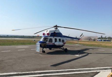 Мотор Сич представил первый украинский вертолет Надежда (ФОТО)