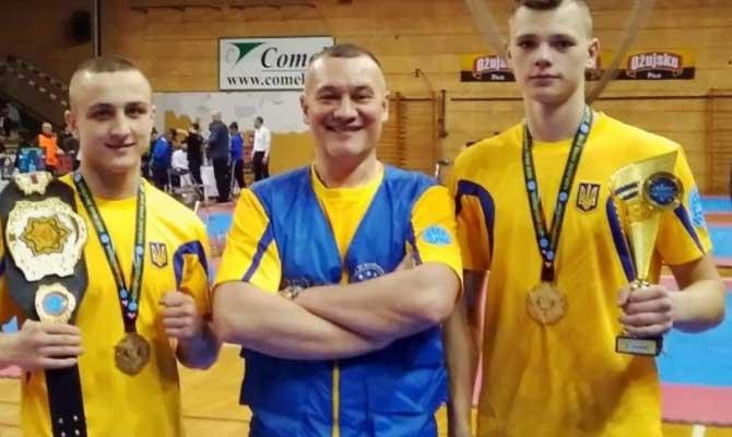 Украинские кикбоксеры завоевали девять медалей на Кубке Европы