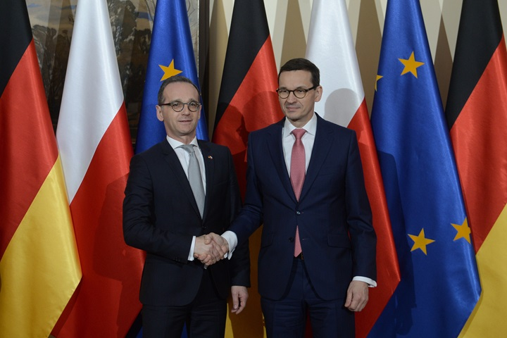 Polish PM and German FM discuss future of EU and bilateral issues