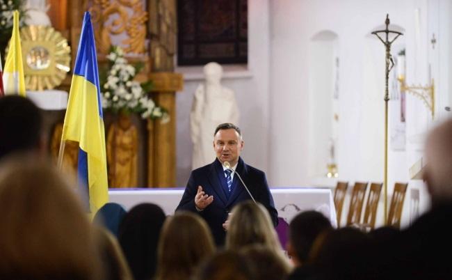 Президент Польши завершил визит в Украину