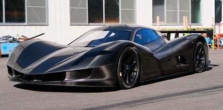 Японский электромобиль установил рекорд по разгону