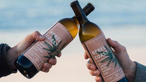 В США изобрели безалкогольное вино с марихуаной