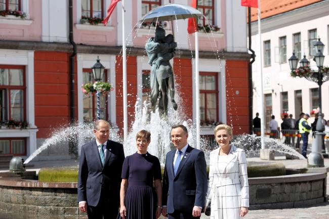 Президенти Польщі та Естонії розмовляли про ситуацію України