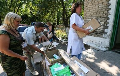 ВООЗ: Мільйони жителів Донбасу без меддопомоги