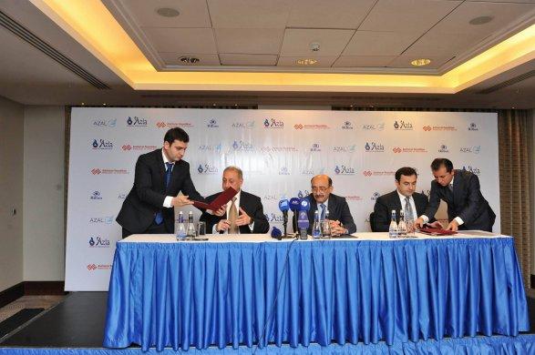 Джахангир Гаджиев, Абульфаз Гараев и Нахид Багиров создали коалицию фото