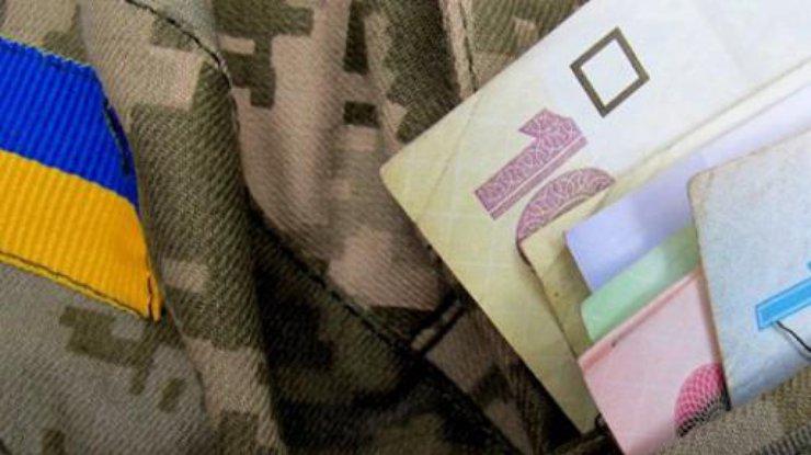 В Украине повысили пенсии военным