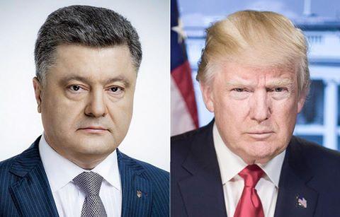 Poroshenko, Trump meet at NATO summit in Brussels
