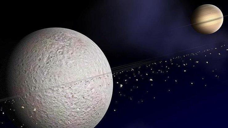 Погода на спутнике Сатурна похожа на земную