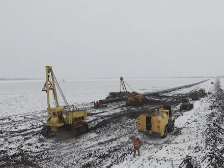 В этом году Укртрансгаз построил и заменил 20 км транзитного газопровода