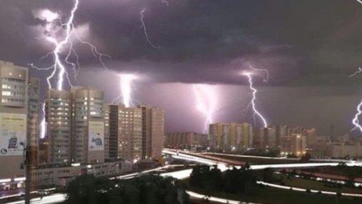 В Барнауле – режим чрезвычайной ситуации из-за мощного урагана: впечатляющие фото бури