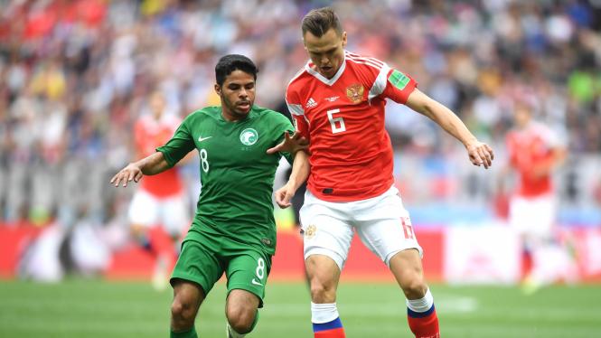 Россия обыграла Саудовскую Аравию в первом матче ЧМ-2018 со счетом 5:0