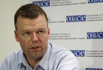 OSCE SMM Principal Deputy Chief Monitor Hug visiting Donbas on June 19-25