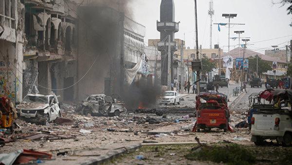 Количество жертв в результате взрывов в столице Сомали достигло 38