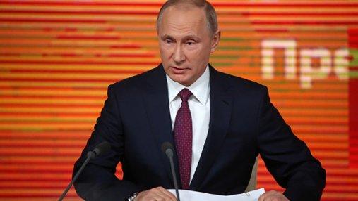 На пресс-конференции Путина собралось рекордное количество журналистов