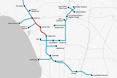 Илон Маск представил карту автомобильных подземных тоннелей под Нью-Йорком (ФОТО)