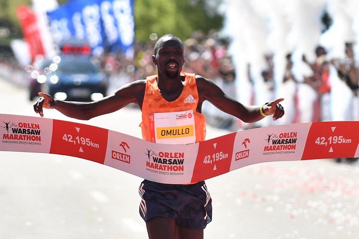 Kenyan wins Orlen Warsaw Marathon