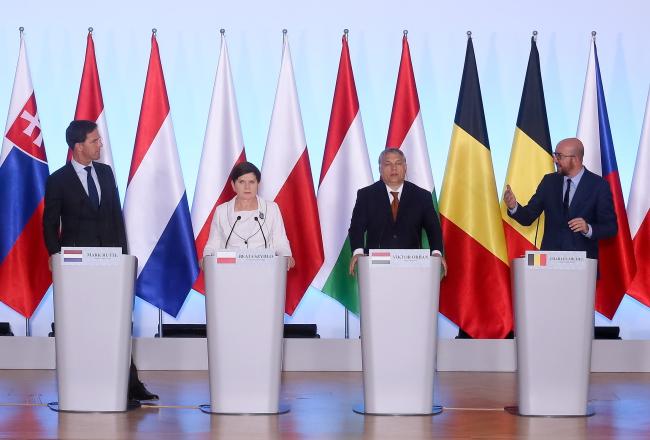 Країни V4 та Бенілюксу підтримують програму Східне партнерство