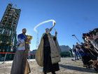Перед катастрофой ракеты Союз ее освятили священники РПЦ. ФОТО
