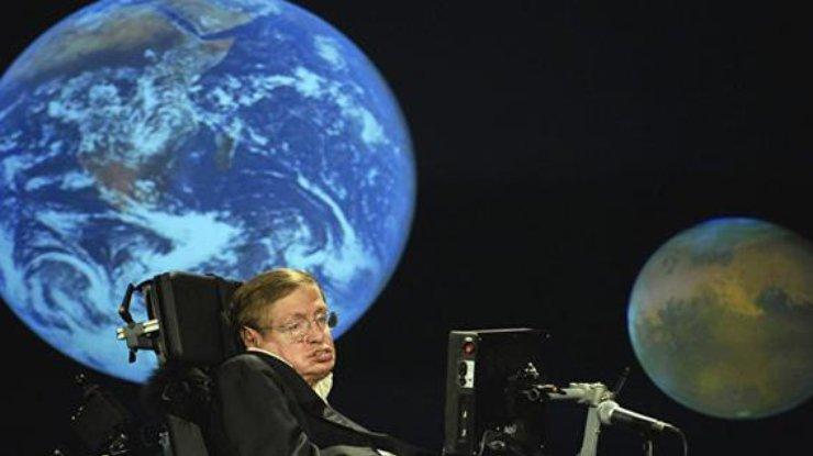 Хокинг показал диссертацию о расширении Вселенной